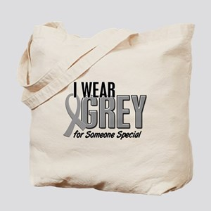 I Wear Grey For Someone Special 10 Tote Bag