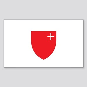 SCHWYZ REGION Rectangle Sticker