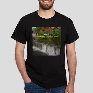 The Old Mill Waterfall Dark T-Shirt