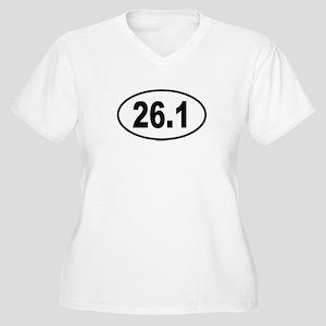 26.1 Womes Plus-Size V-Neck T-Shirt
