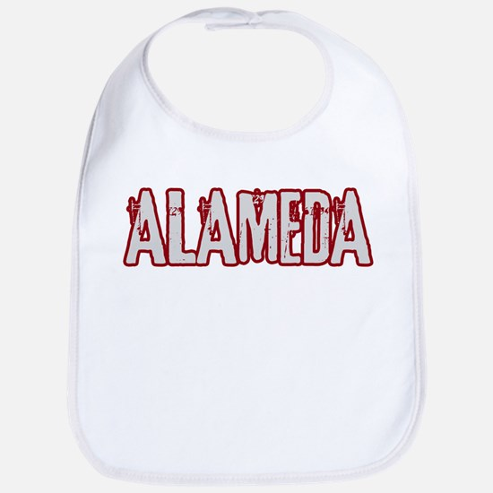 ALAMEDA (distressed) Bib