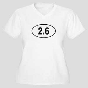 2.6 Womes Plus-Size V-Neck T-Shirt