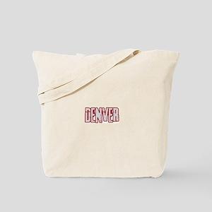 DENVER (distressed) Tote Bag