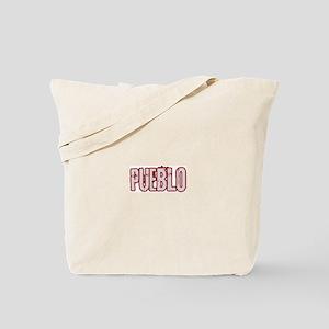 PUEBLO (distressed) Tote Bag