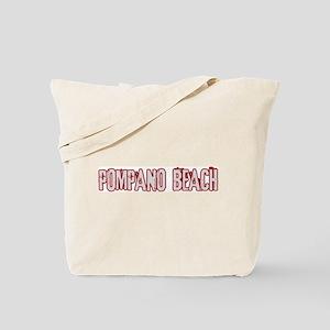 POMPANO BEACH (distressed) Tote Bag
