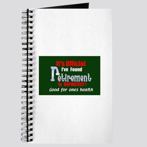 Retirement Is Good For You.:-) Journal