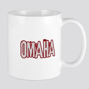OMAHA (distressed) Mug