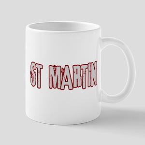 ST MARTIN (distressed) Mug
