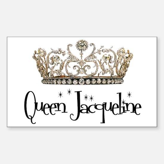 Queen Jacqueline Rectangle Decal