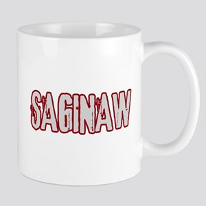 SAGINAW (distressed) Mug