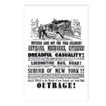 RAILROAD OUTRAGE Postcards (Package of 8)