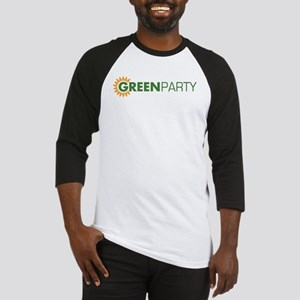 Green Party Logo (sunflower)  Baseball Jersey