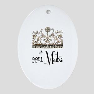 Queen Makayla Oval Ornament