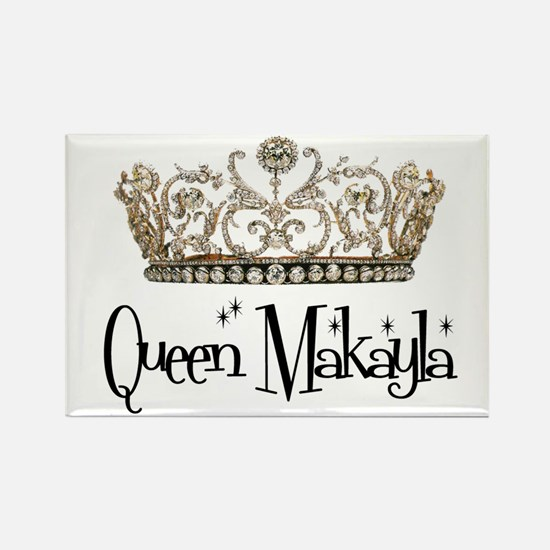 Queen Makayla Rectangle Magnet