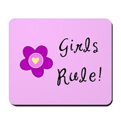 Girls Rule Mousepad