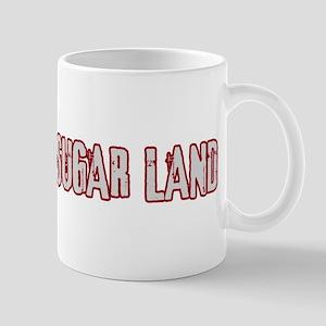 SUGAR LAND (distressed) Mug