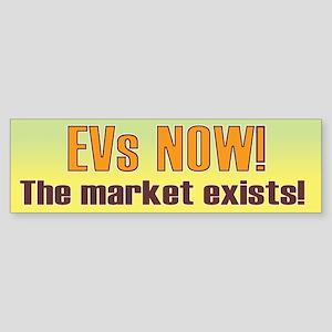 EVs NOW! Bumper Sticker