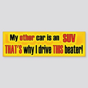 Other Car SUV Bumper Sticker