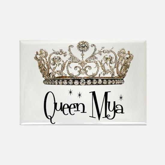 Queen Mya Rectangle Magnet