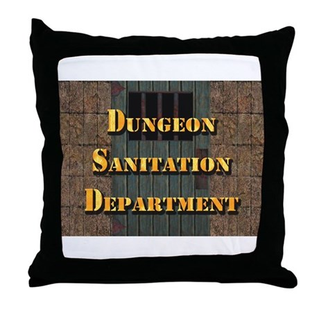 Dungeon Dept: Throw Pillow