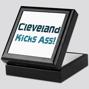 Cleveland Kicks Ass Keepsake Box
