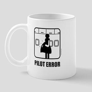 *NEW DESIGN* Pilot Error Mug