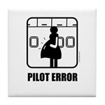 *NEW DESIGN* Pilot Error Tile Coaster