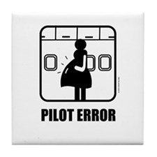 *NEW DESIGN* Pilot Error Tile Coaster