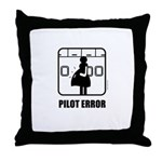 *NEW DESIGN* Pilot Error Throw Pillow