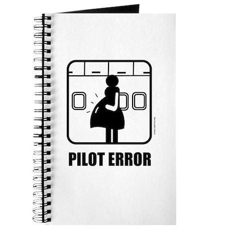 *NEW DESIGN* Pilot Error Journal