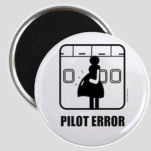*NEW DESIGN* Pilot Error Magnet