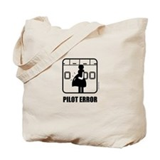 *NEW DESIGN* Pilot Error Tote Bag