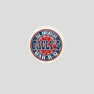 Pauly's All American BBQ Mini Button