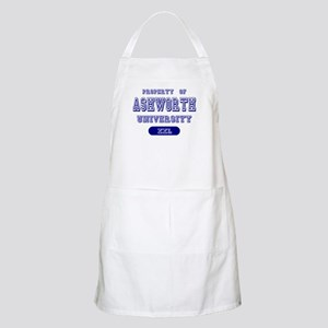 Property of Ashworth University BBQ Apron
