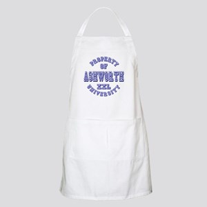 Property of Ashworth University XXL BBQ Apron