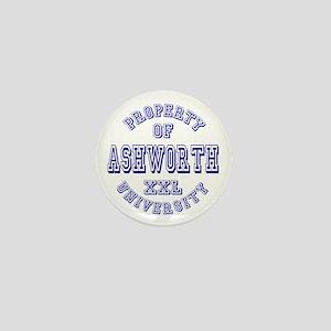 Property of Ashworth University XXL Mini Button