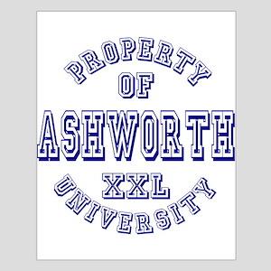 Property of Ashworth University XXL Small Poster