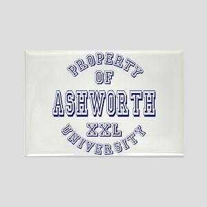 Property of Ashworth University XXL Rectangle Magn