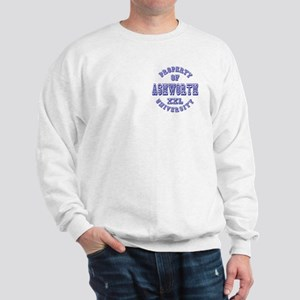 Property of Ashworth University XXL Sweatshirt