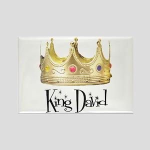 King David Rectangle Magnet