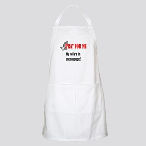 Wife In Menopause BBQ Apron