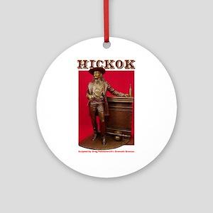 Hickok Ornament (Round)