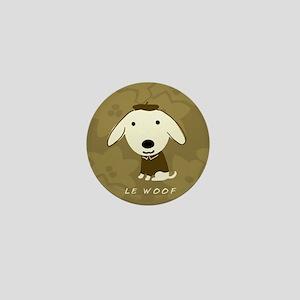 Le Woof Mini Button