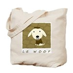 Le Woof Tote Bag