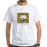 Le Woof White T-Shirt