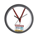 WTD: Credentials Wall Clock