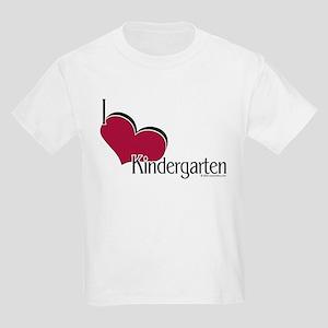 I Love Kindergarten Kids T-Shirt