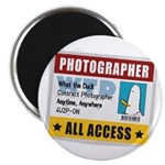 "WTD: Credentials 2.25"" Magnet (10 pack)"