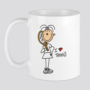 I Heart Tennis Mug