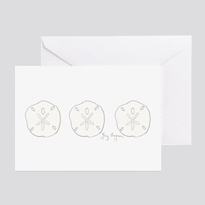 Sand Dollar Greeting Cards (Pk of 10)